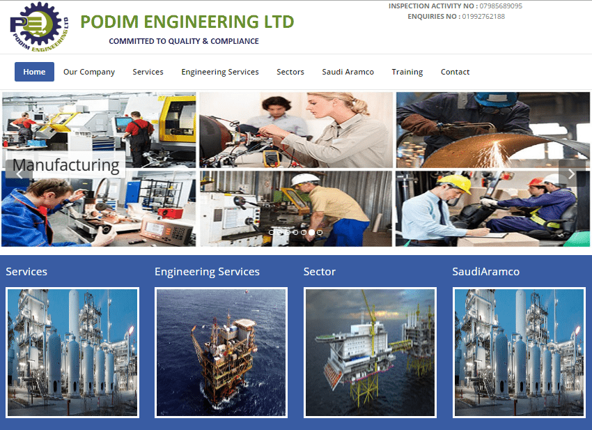 Podim Engineering Ltd