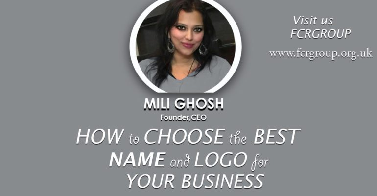How to Pick the Perfect Company Name and Logo