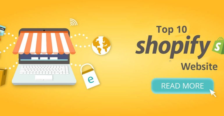 Top 10 shopify website